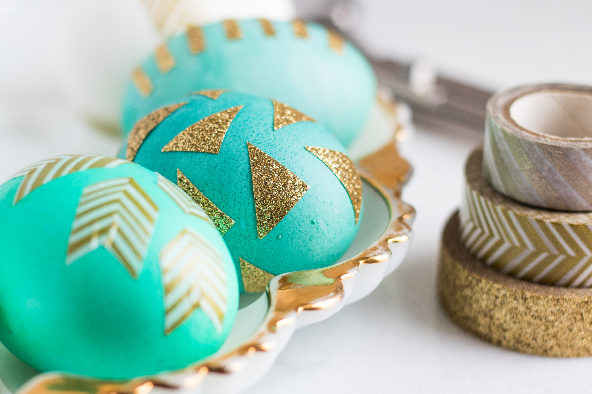 creative easter egg decoration washi tape