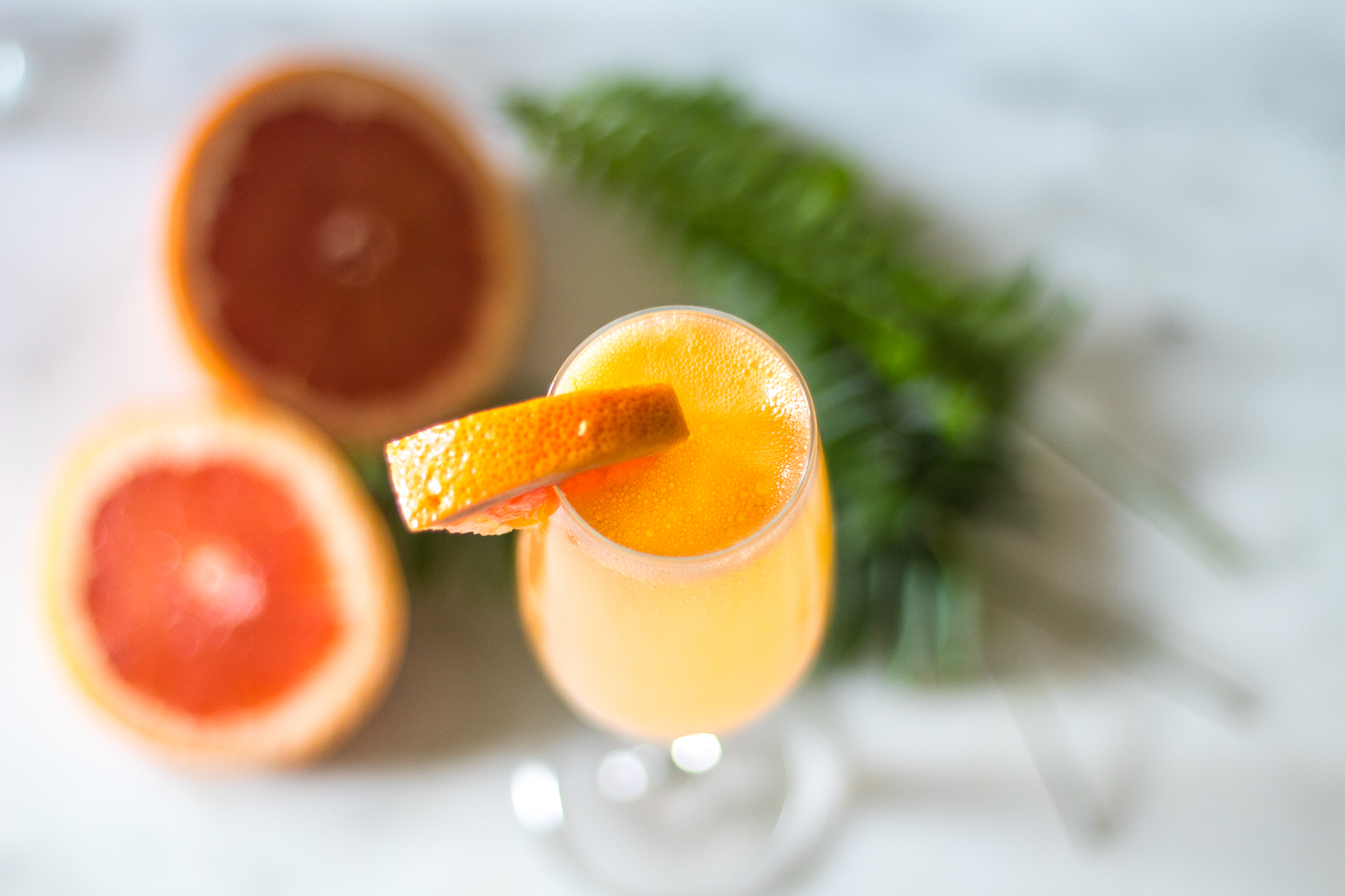 grapefruit ginger mimosa recipe