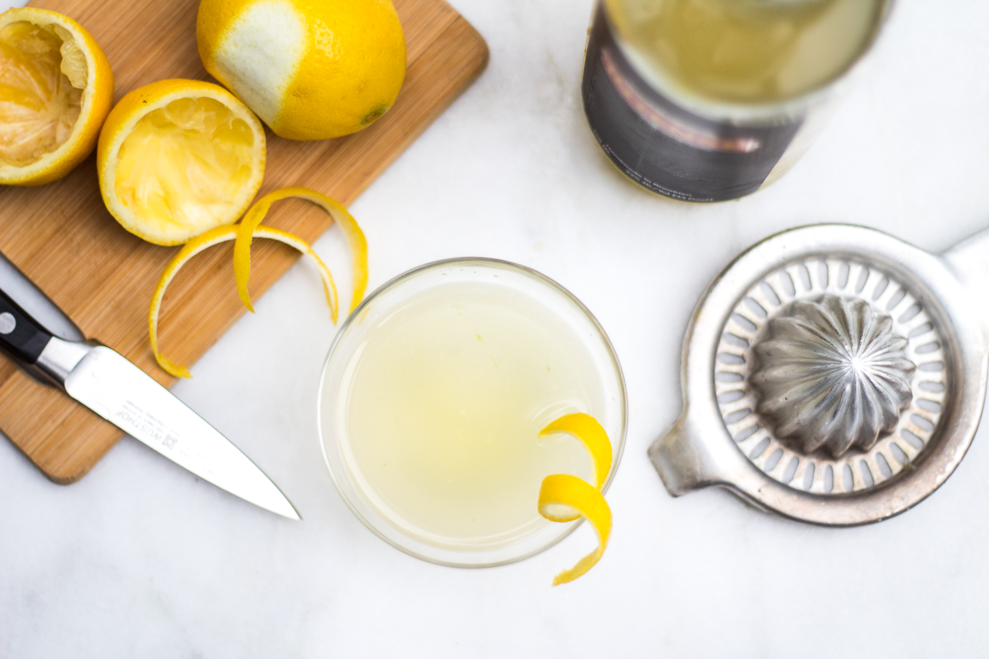 Ginger French 75 Bastille Day