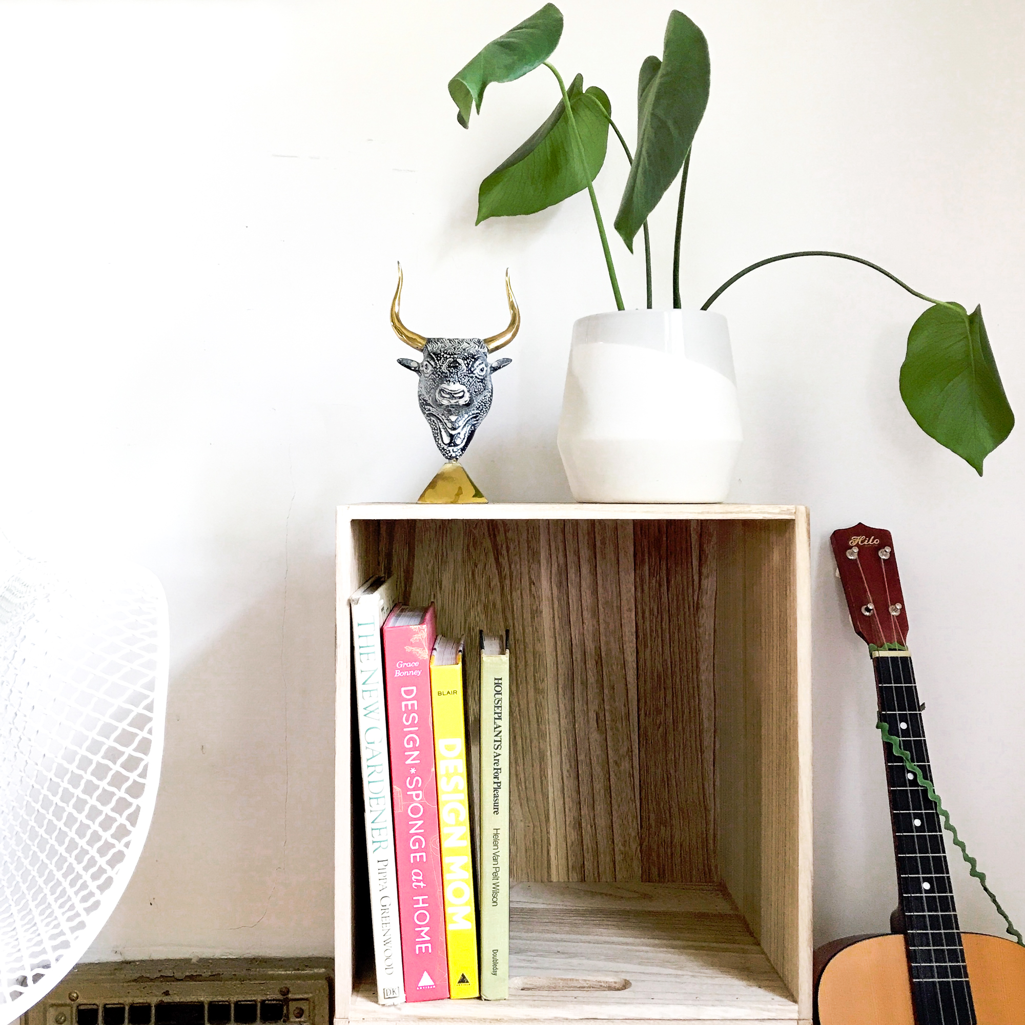 Target Pillowfort Hack DIY Small Wood Bookshelf