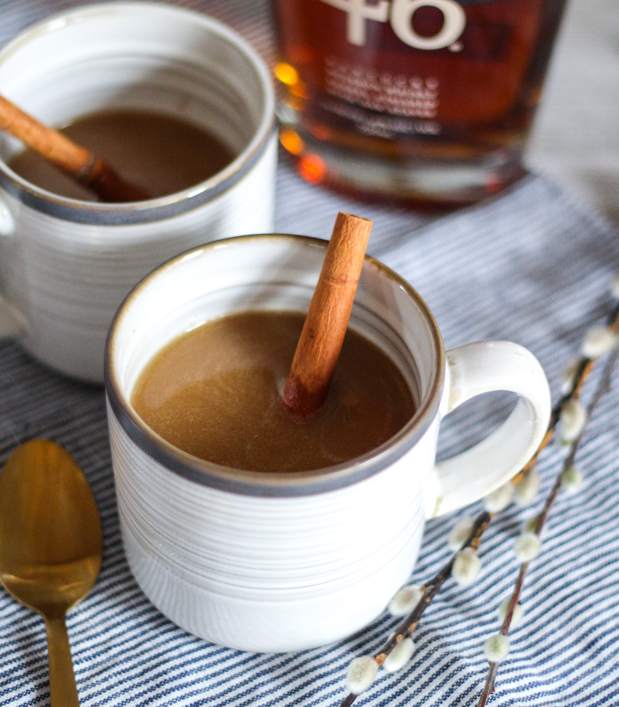 hot buttered bourbon recipe