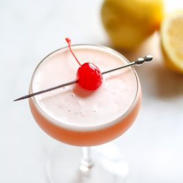 Make Whiskey Sours Great Again With Rhubarb Syrup