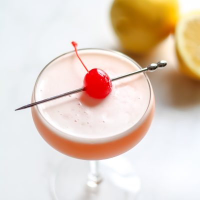 rhubarb whiskey sour