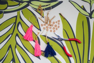 mother's day kansas city crafts cocktails earrings emily farris