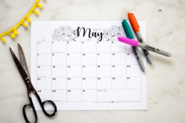 printable may 2017 calendar free digital download