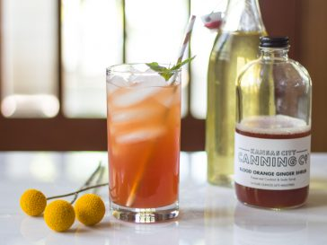 ginger and juice cocktail kc canning company shrub