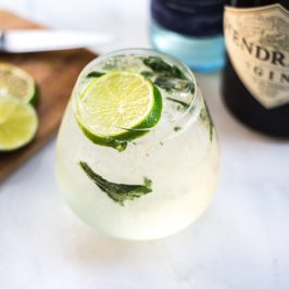 A Green Wine (And Gin!) Spritzer