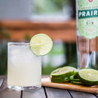 prairie organic gin cocktail easy
