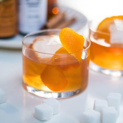 apple brandy old fashioned