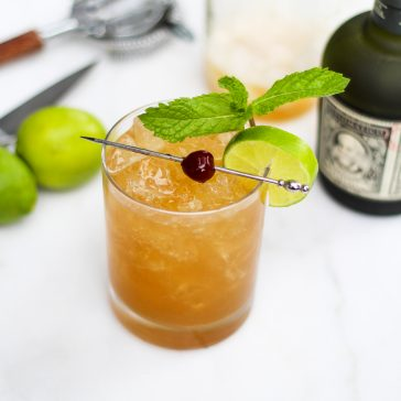 the little zombie rum cocktail