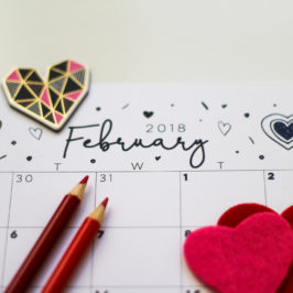 Free Digital Download: February 2018 Calendar