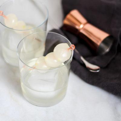 gibson martini on the rocks