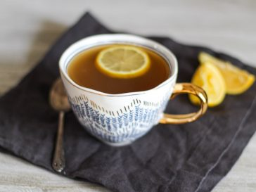 hot toddy with ginger