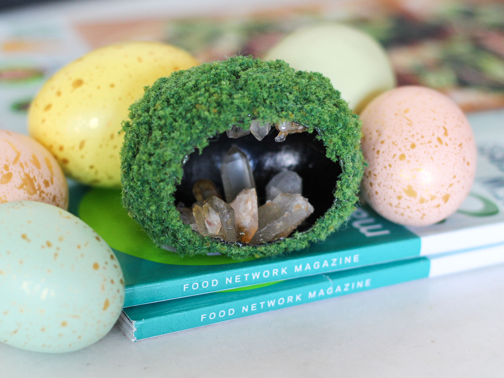cave egg diorama how to food network magazine missouri