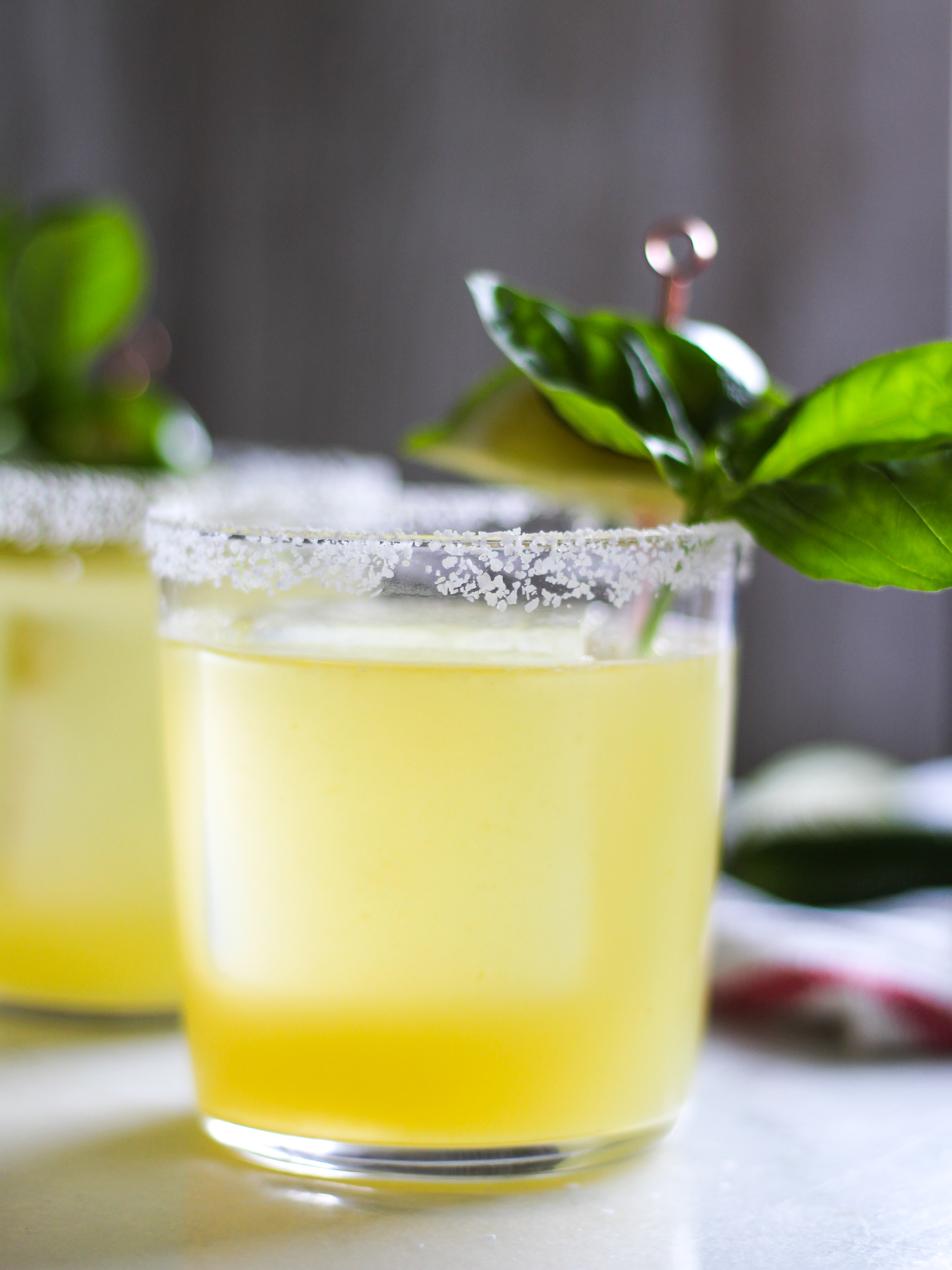 spicy basil margarita