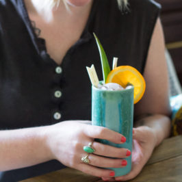 A Pineapple-Free Tiki Drink