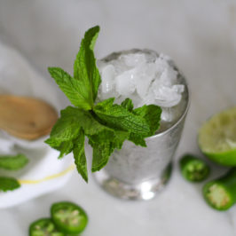 A Jalapeño-Lime Julep – Because 'Merica