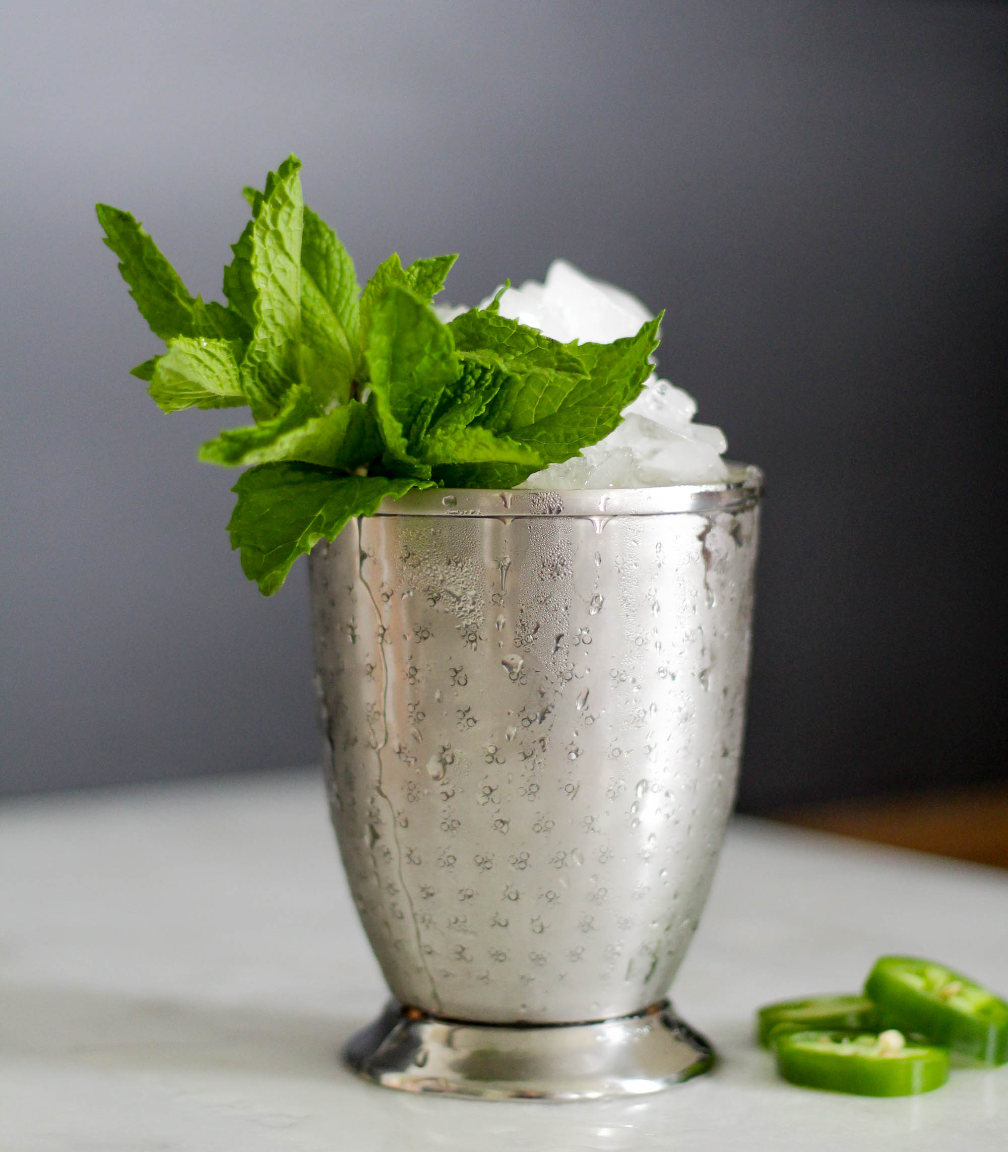 A Jalape 241 O Lime Julep For Cinco De Derby Day In Merica