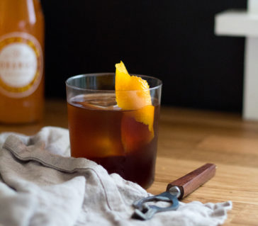 Cold Brew and Orange Soda Cocktail