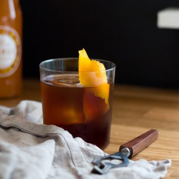 Orange You Glad I Made This Cold Coffee Cocktail? Yes, Yes You Are.