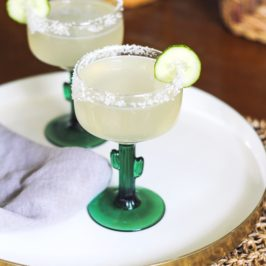 This is Not a Cucumber Mezcal Margarita