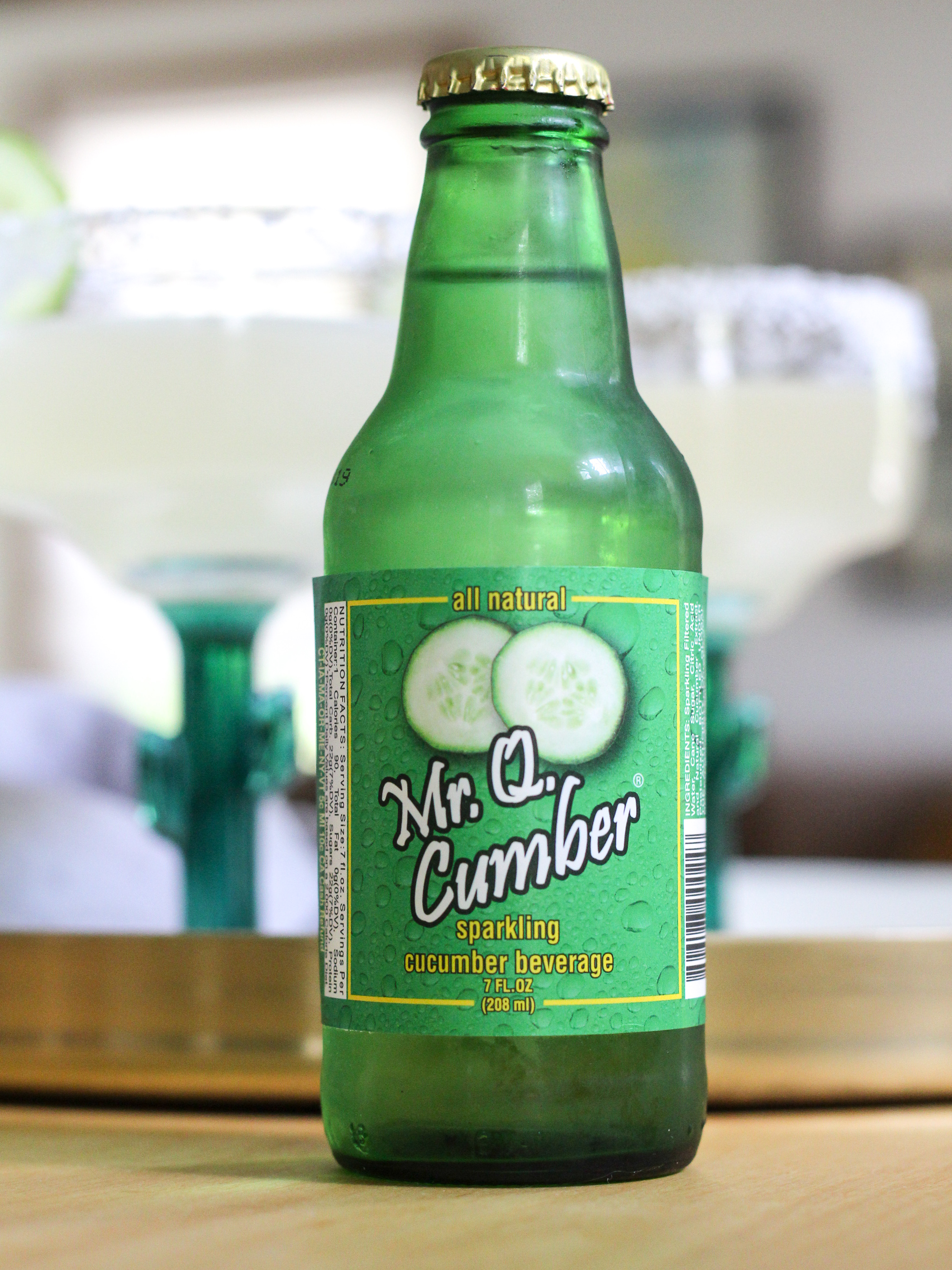 mr q cucumber soda