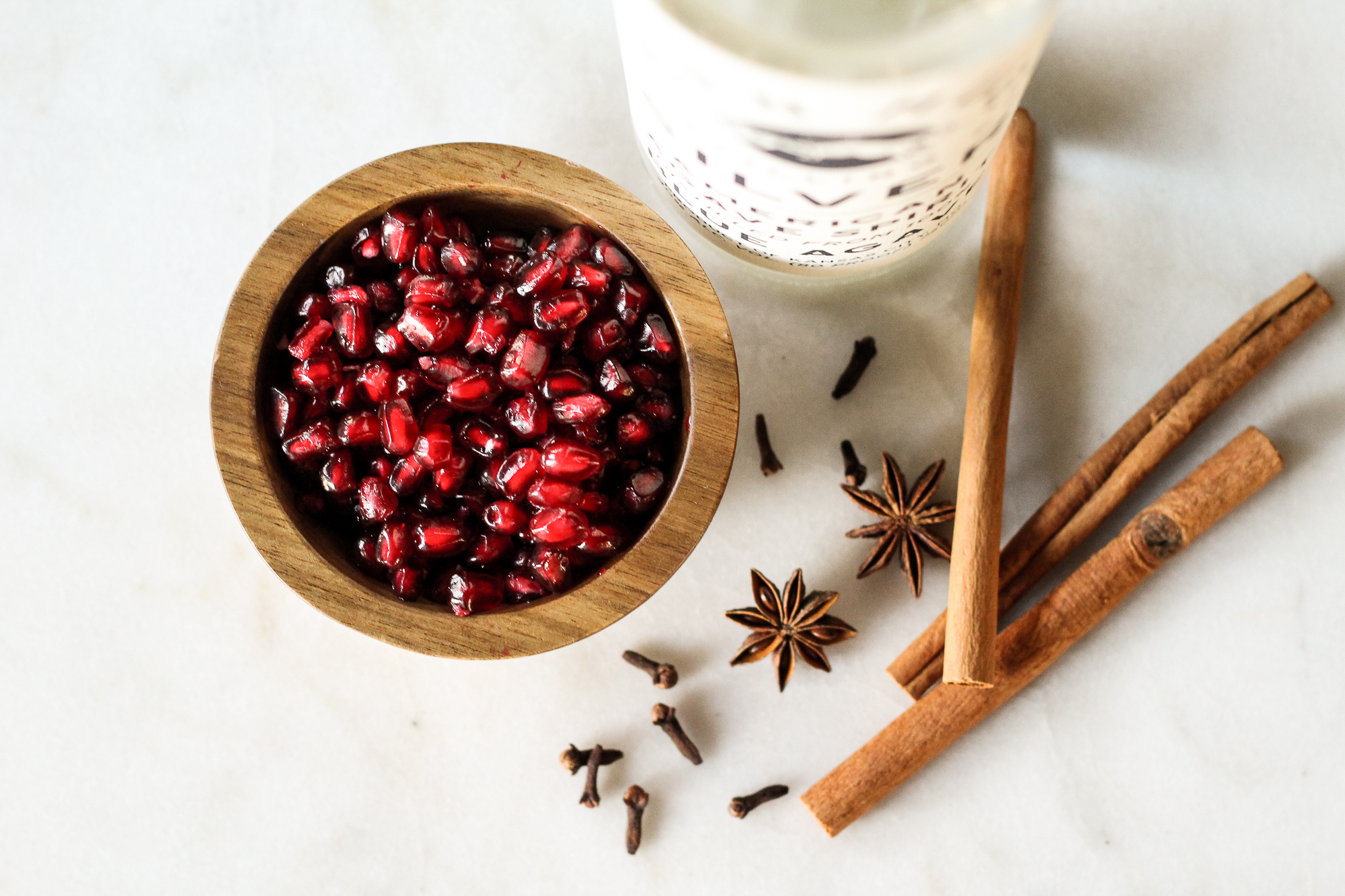 spiced pomegranate syrup