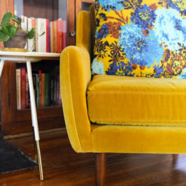 Fell In Love With a Chair: Article's Matrix Yarrow Gold