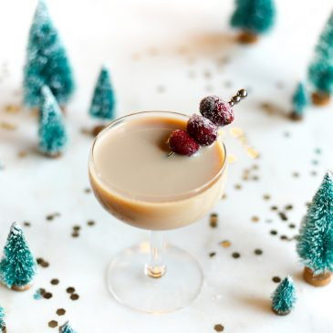 nuts and berries christmas cocktail