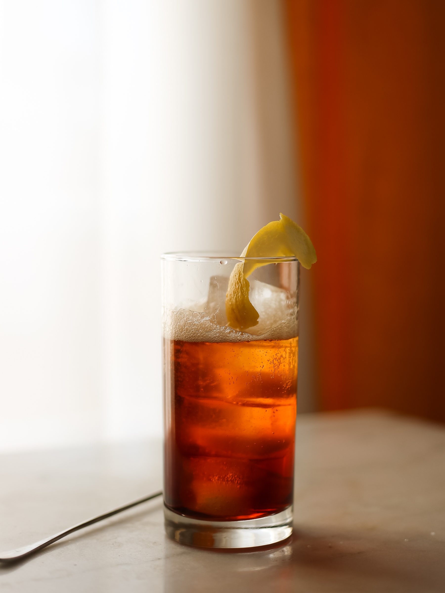 coffee and aperol cocktail